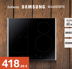 Indukcinė kaitlentė Samsung NZ64H57477K