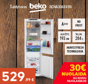 Šaldytuvas BEKO BCNA306E4SN