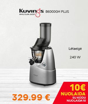 Sulčiaspaudė KUVINGS B6000GM Plus