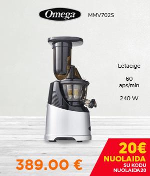Lėtaeigė sulčiaspaudė Omega MMV702S
