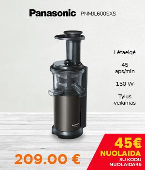 Lėtaeigė sulčiaspaudė Panasonic PNMJL600SXS