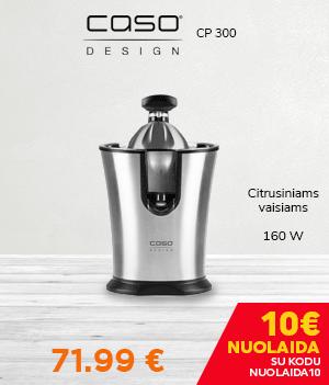 Citrusinių vaisių sulčiaspaudė Caso CP 300 Juicer, 160W