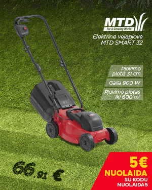 Elektrinė vejapjovė MTD SMART 32