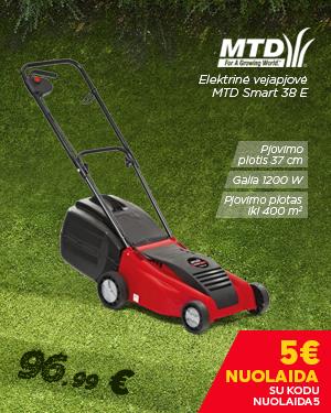 Vejapjovė elektrinė MTD Smart 38 E