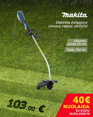 Elektrinė žoliapjovė trimeris Makita UR3500