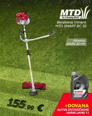Benzininis trimeris MTD SMART BC 52