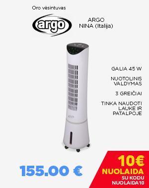 Oro vėsintuvas ARGO NINA (Italija)