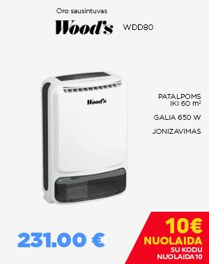 Oro sausintuvas Wood's WDD80